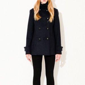Babaton Howell Wool Coat Black